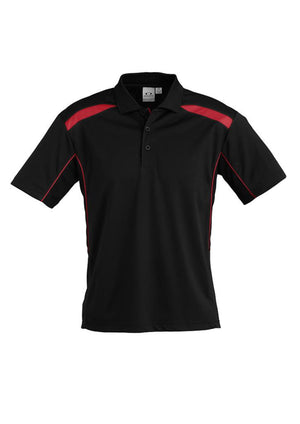 Biz Collection-Biz Collection Mens United Short Sleeve Polo 1st ( 11 Colour )-Black / Red / Small-Uniform Wholesalers - 20