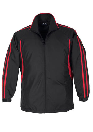 Biz Collection-Biz Collection Adults Flash Track Top 2nd ( 4 Colour )-Black / Red / XS-Uniform Wholesalers - 3