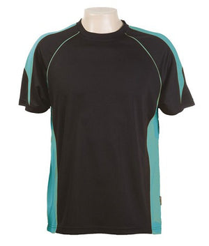 Australian Spirit-Aus Spirt Olympikool Tees 1st ( 10 Colour )-Black / Teal / S-Uniform Wholesalers - 7