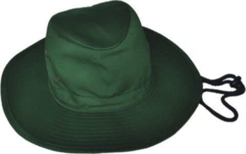 Bocini-Bocini Kids School Wide Brim Hat-Bottle Green / M-Uniform Wholesalers - 2