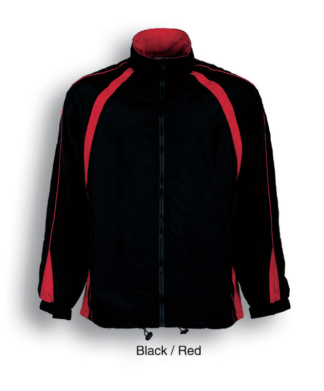 Bocini-Bocini Kids Track-Suit Jacket-Black/Red / 4-Uniform Wholesalers - 2