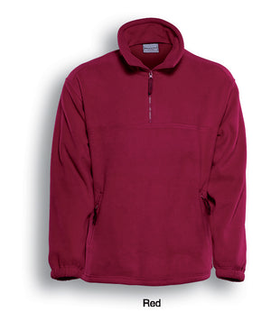 Bocini-Bocini Polar Fleece-Red / S-Uniform Wholesalers - 5