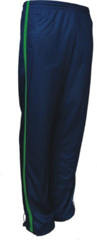 Bocini-Bocini Adults Elite Sports Track Pants-Navy/Lime / S-Uniform Wholesalers - 1
