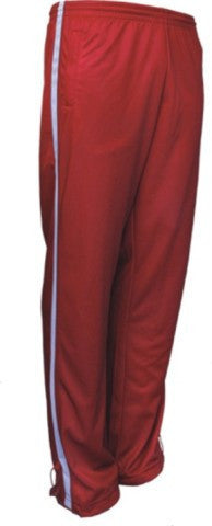 Bocini-Bocini Adults Elite Sports Track Pants-Red/White / S-Uniform Wholesalers - 3