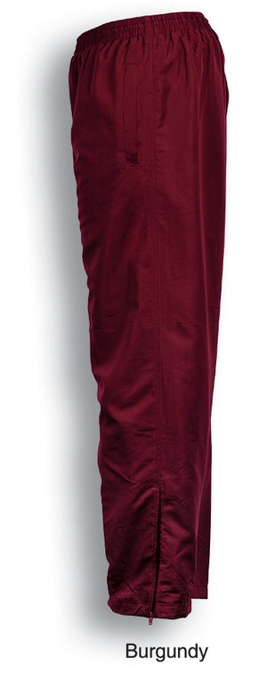 Bocini-Bocini Unisex Track-Suit Pants-Burgundy / S-Uniform Wholesalers - 4
