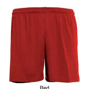 Bocini-Bocini Adults Plain Soccer Shorts-Red / S-Uniform Wholesalers - 6
