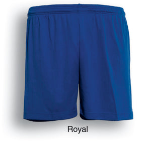 Bocini-Bocini Adults Plain Soccer Shorts-Royal / S-Uniform Wholesalers - 7