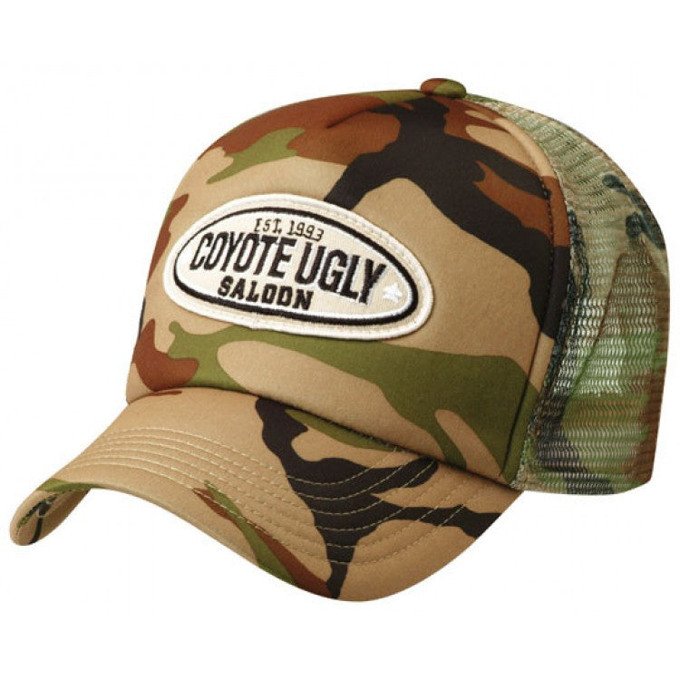 Grace Collection-Grace Collection Camouflage Trucker Cap--Uniform Wholesalers - 1