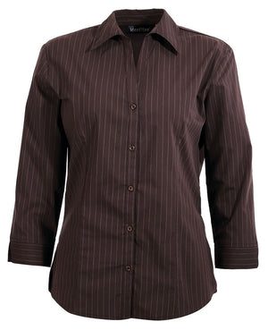 identitee-Identitee Ladies Fifth Avenue-Chocolate / 8-Uniform Wholesalers - 3