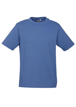 Biz Collection-Biz Collection Mens Ice Tee 1st ( 12 Colour )-Denim / S-Uniform Wholesalers - 4