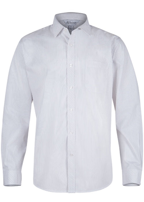 Aussie Pacific Mens Bayview Long Sleeve Shirt (1906L)