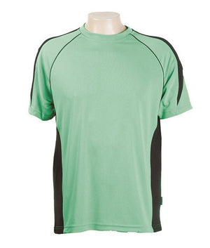 Australian Spirit-Aus Spirt Olympikool Tees 1st ( 10 Colour )-Emerald green / Black / S-Uniform Wholesalers - 11