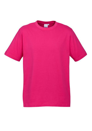 Biz Collection-Biz Collection Mens Ice Tee 1st ( 12 Colour )-Fuchsia / S-Uniform Wholesalers - 6