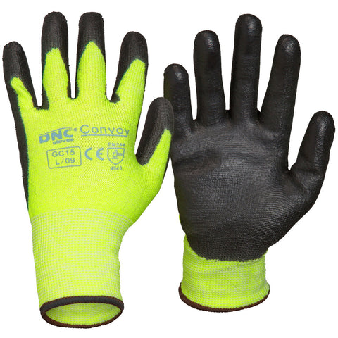 DNC Workwear-DNC Convoy-S / Black/HiVis Yellow-Uniform Wholesalers