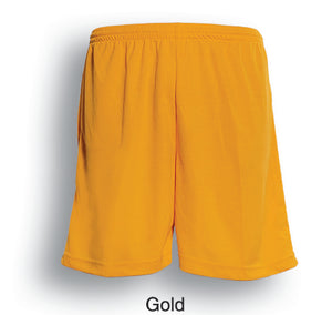 Bocini-Bocini Adults Breezeway Football Shorts-Gold / S-Uniform Wholesalers - 5