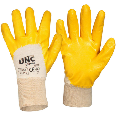 DNC Workwear-DNC Orange Nitrile Dip--Uniform Wholesalers