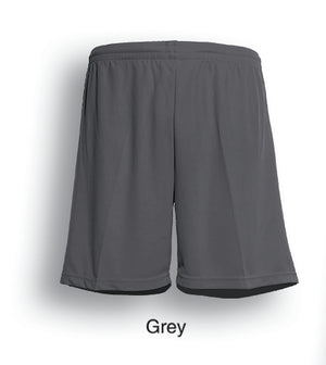 Bocini-Bocini Adults Breezeway Football Shorts-Grey / S-Uniform Wholesalers - 6