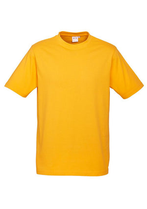 Biz Collection-Biz Collection Mens Ice Tee 1st ( 12 Colour )-Gold / S-Uniform Wholesalers - 7