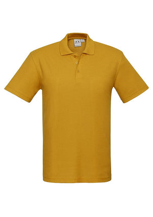 Biz Collection-Biz Collection  Kids Crew Polo(1st 9 Colours)-Gold / 4-Uniform Wholesalers - 8