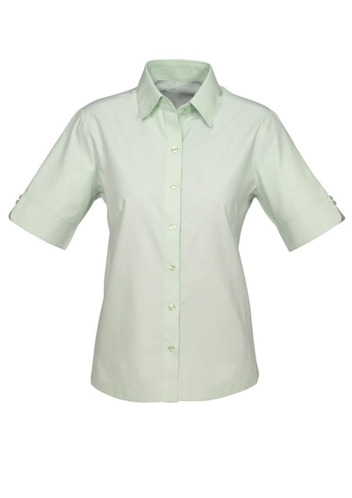 Biz Collection-Biz Collection Ladies Ambassador Shirt-3/4 Sleeve-Green / 6-Uniform Wholesalers - 3