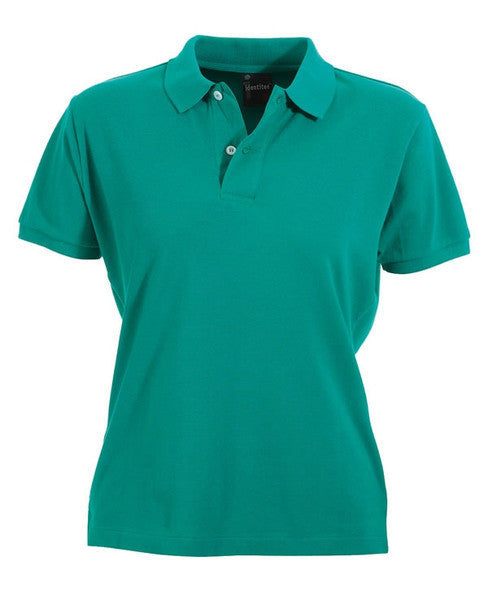 identitee-identitee Ladies Venice Slim Cut Polo Shirt-Green / 8-Uniform Wholesalers - 4