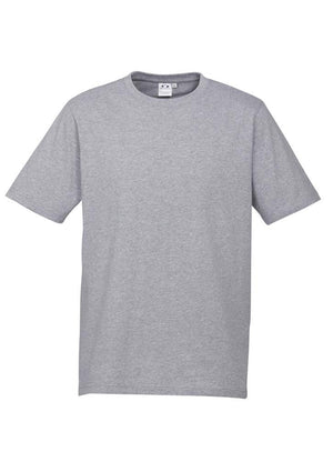 Biz Collection-Biz Collection Mens Ice Tee 1st ( 12 Colour )-Grey Marle / S-Uniform Wholesalers - 8