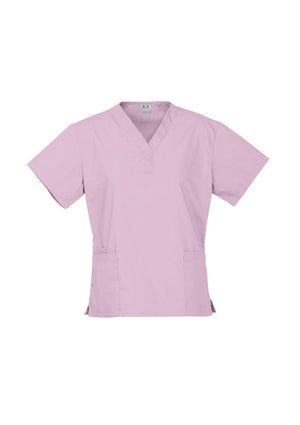 Biz Collection Ladies Classic Scrubs Top (H10622)-Clearance