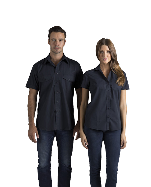 identitee-Identitee Mens Harley Short Sleeve--Uniform Wholesalers - 1