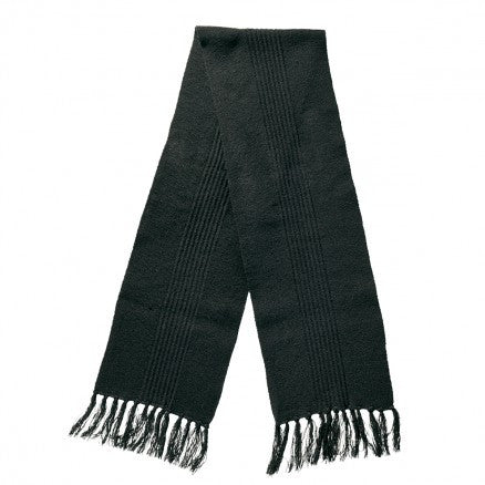 Great Southern-Great Southern Acrylic Scarf-Black/Black / Free-Uniform Wholesalers - 1