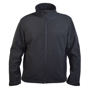 Great Southern-Great Southern The Premium Softshell Men's Jacket-Black / S-Uniform Wholesalers