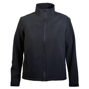 Great Southern-Great Southern The Premium Softshell Women's Jacket-Black / 6-Uniform Wholesalers