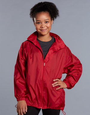 Winning Spirit Rain Forest Spray Jacket Kid's (JK10K)