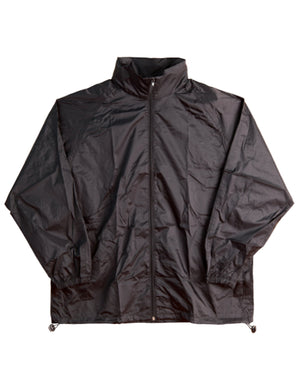 Winning Spirit-Winning Spirit  Adults' Outdoor Activities Spray Jacket-Black / XS-Uniform Wholesalers - 2