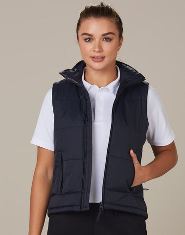 Winning Spirit Ladies' Nylon Rip-stop Padded Vest (JK30)