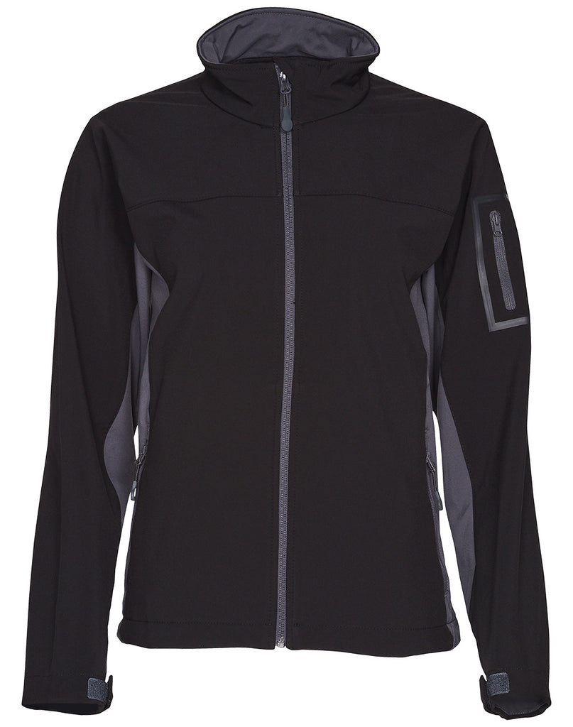 Winning Spirit Ladies' Whistler Contrast Softshell Jacket (JK32)