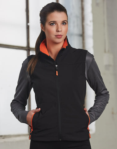 Winning Spirit Rosewall Softshell  Sports Vest Ladies(JK46)