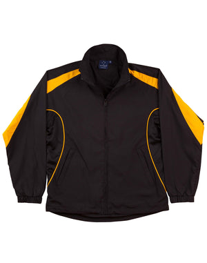 Winning Spirit-Winning Spirit Adults Warm Up Jacket (Unisex)-Black/gold / XS-Uniform Wholesalers - 2