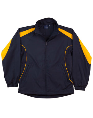 Winning Spirit-Winning Spirit Adults Warm Up Jacket (Unisex)-Navy/gold / XS-Uniform Wholesalers - 8