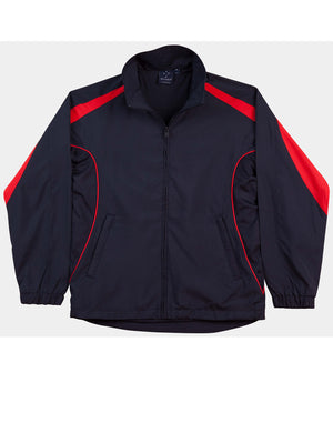 Winning Spirit-Winning Spirit Adults Warm Up Jacket (Unisex)-Navy/Red / XS-Uniform Wholesalers - 9