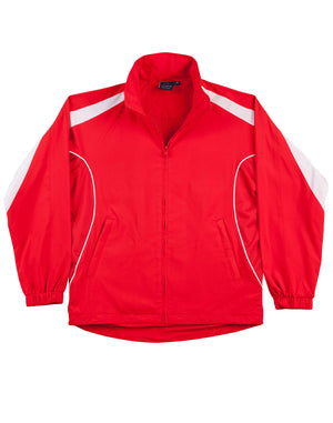 Winning Spirit-Winning Spirit Adults Warm Up Jacket (Unisex)-Red/white / XS-Uniform Wholesalers - 12