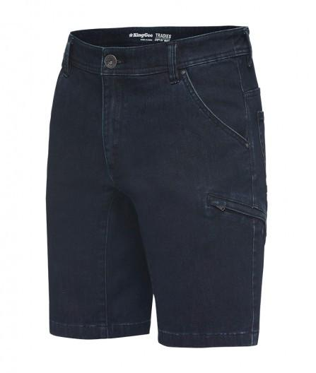 King Gee Tradies Denim Shorts (K13040)