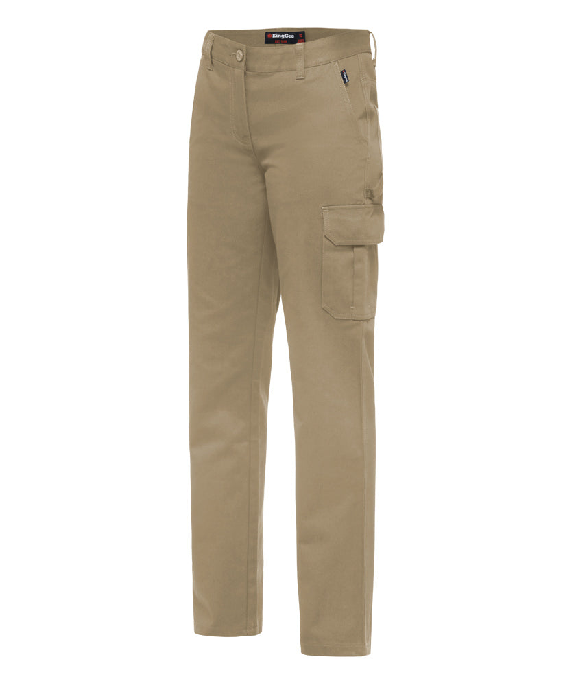 King Gee Women's Drill Pant - Cotton Drill 310gsm (K43530)