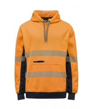 King Gee Hi Vis Refelctive Pull Over Hoodie (K55054)