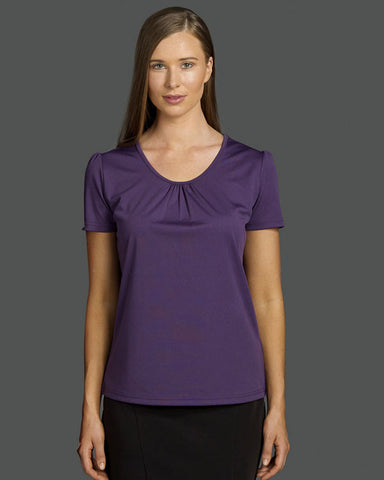 identitee-Identitee Ladies Balmain Easy Care Polyester Interlock Top--Uniform Wholesalers - 1