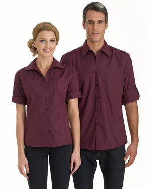identitee-Identitee Ladies Murray 3/4 Sleeve Shirt--Uniform Wholesalers - 1