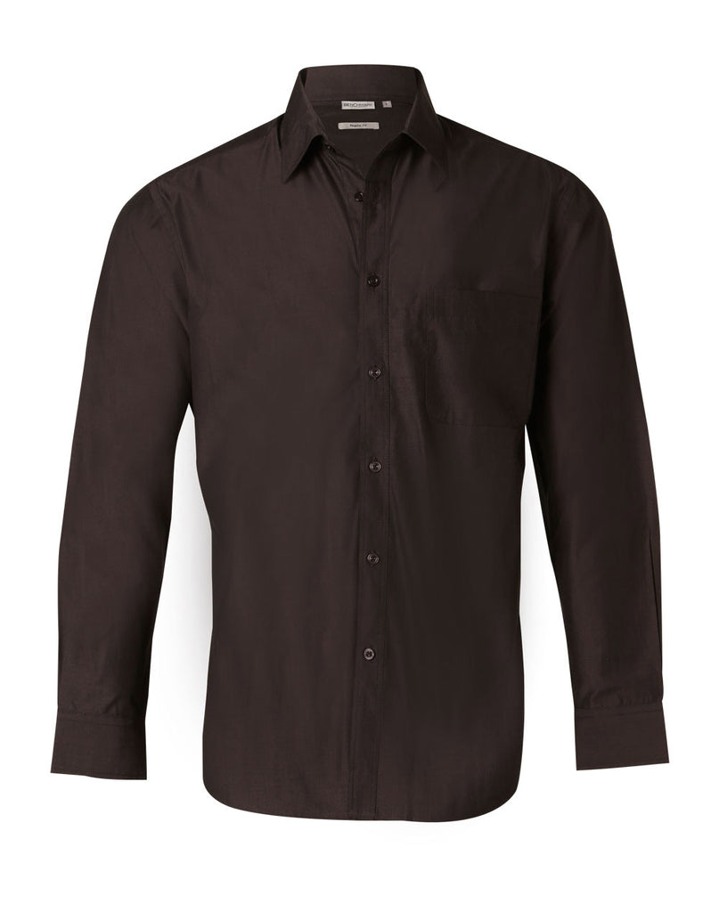 Winning Spirit Men's Nano Tech Long Sleeve Shirt (M7002)