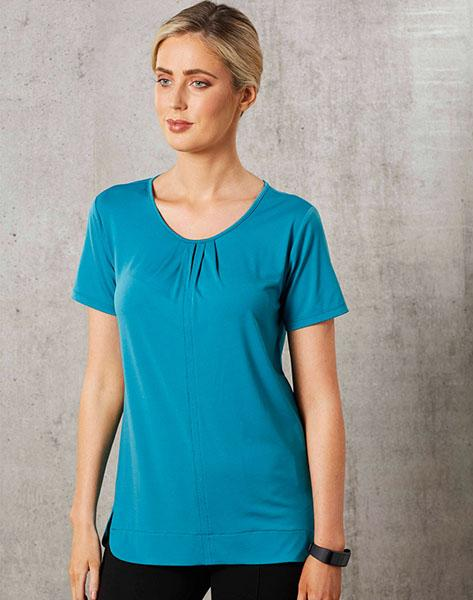 Winning Spirit  Ladies Short Sleeve Top Julia (M8850)