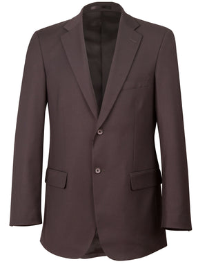 Winning Spirit Men's Wool Blend Stretch Two Buttons Jacket (M9100)