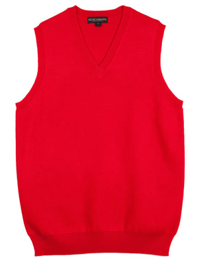 Winning Spirit-Winning Spirit Women's V-neck Vest-Red / XS-Uniform Wholesalers - 5
