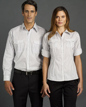 identitee-Identitee Mens Cassidy Long Sleeve(New Style)--Uniform Wholesalers - 1
